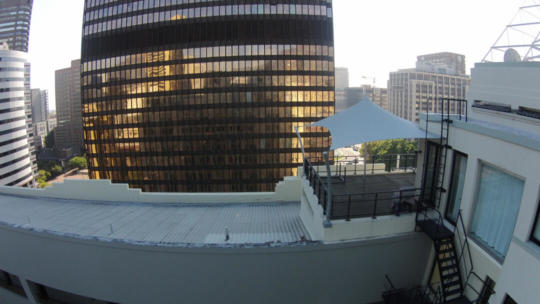 14 CUSTOM STRETCH TENT PENTHOUSE CBD GREY