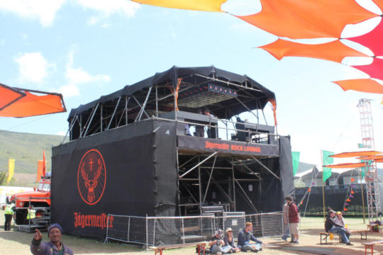FESTIVAL SOUND ENGINEER COVER  7.5M X 10M BLACK