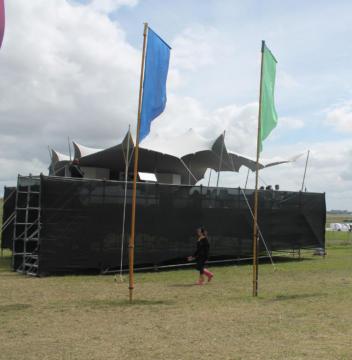 FESTIVAL VIP AREA 7.5X10.5 STRETCH TENT WHITE