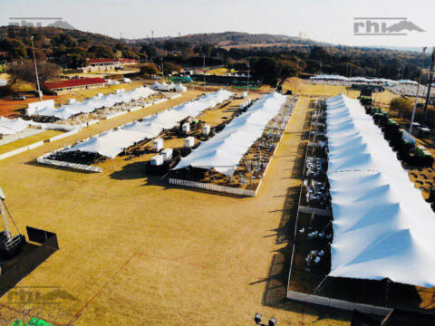 RHI Stretch Tents at the MTN Walk-the-Talk with 702