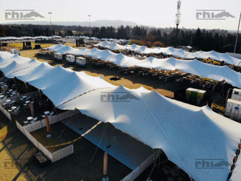 Stretch Tents at MTN Walk-the- Talk with 702 - 2018