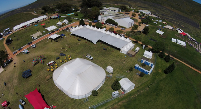 RHI Stretch Tents at Rocking the Daisies 2014